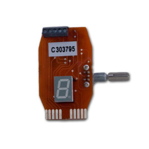 Standard encoder including display