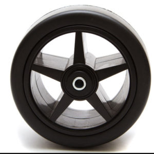 NEW Front Wheel for Powakaddy - Black