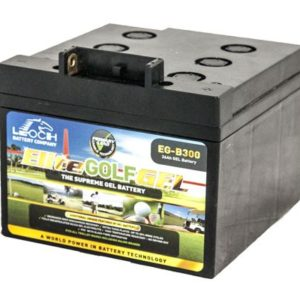 Leoch – EG-B300 Tbar (26Ah T-Bar & BAG) - Deep Cycle Gel Golf Battery